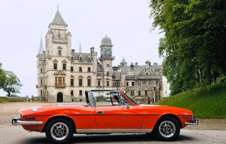 highland classic car hire